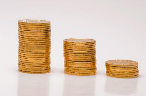 столбики монет